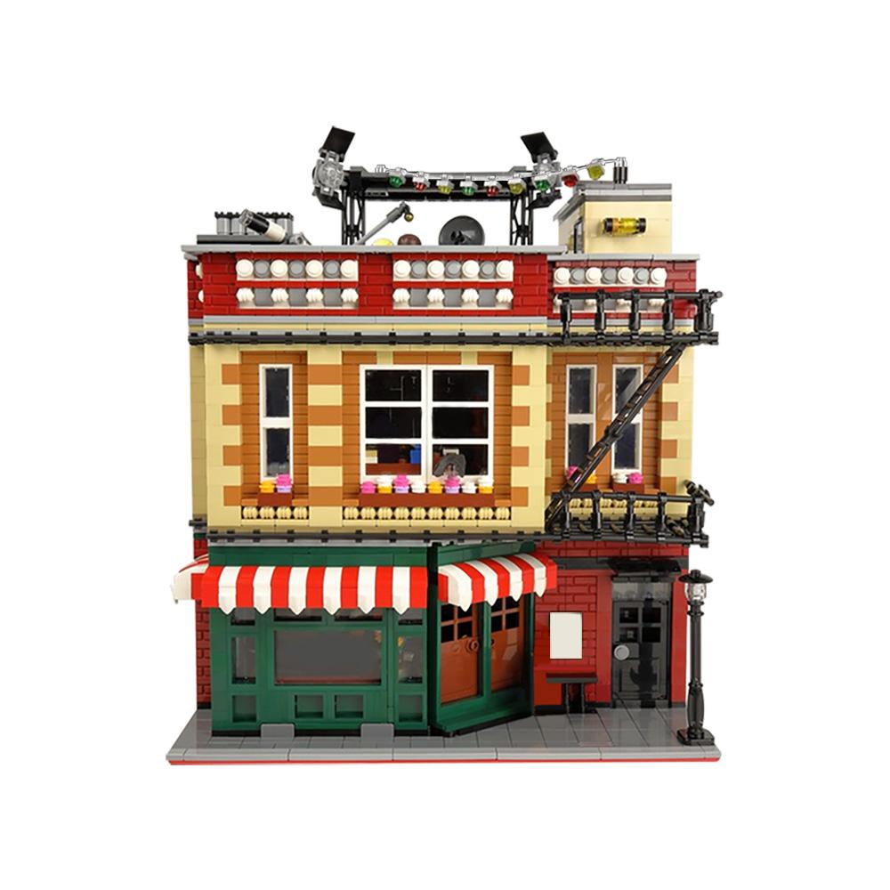 MOC-34463  Central Perk Big Bang Theory modular