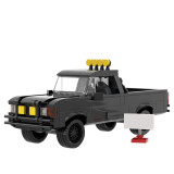 MOC-40486 Back to the Future Toyota 4x4 Pickup Truck