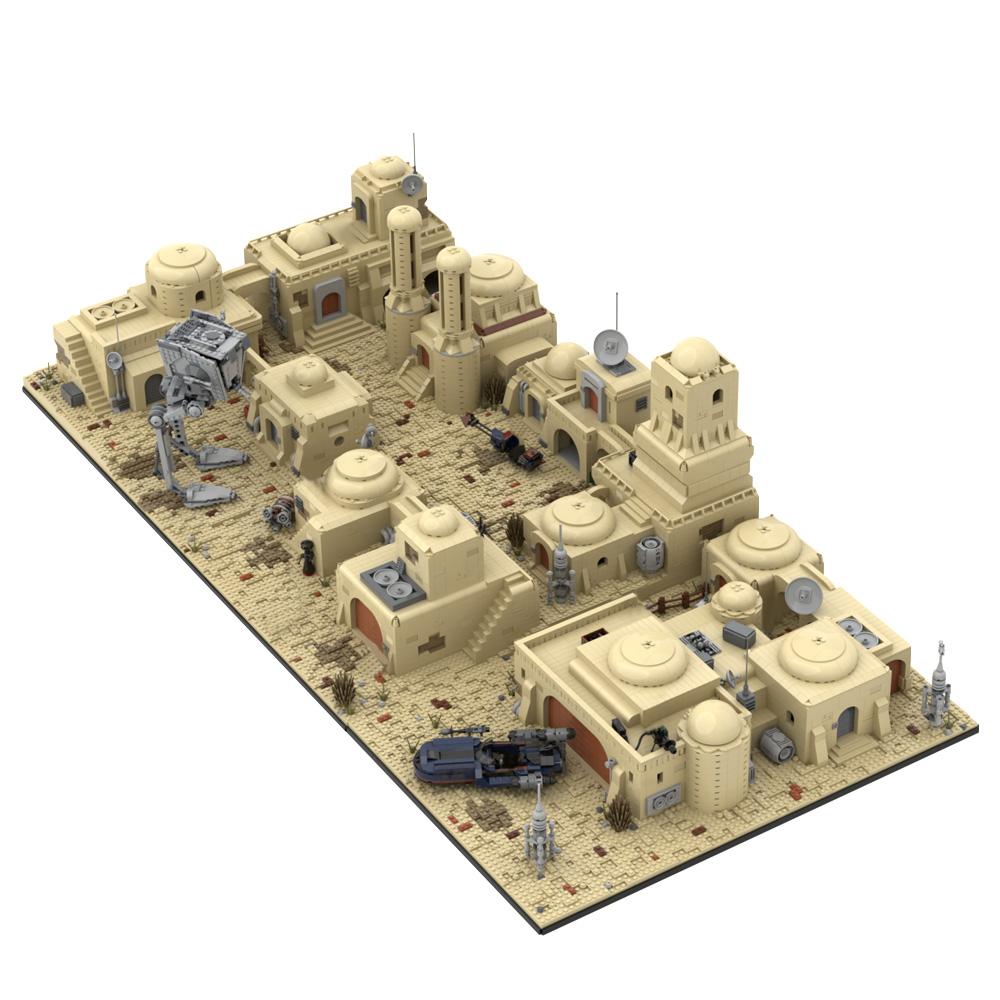 MOC-53045 Star Wars Tatooine Mos Eisley Cantina