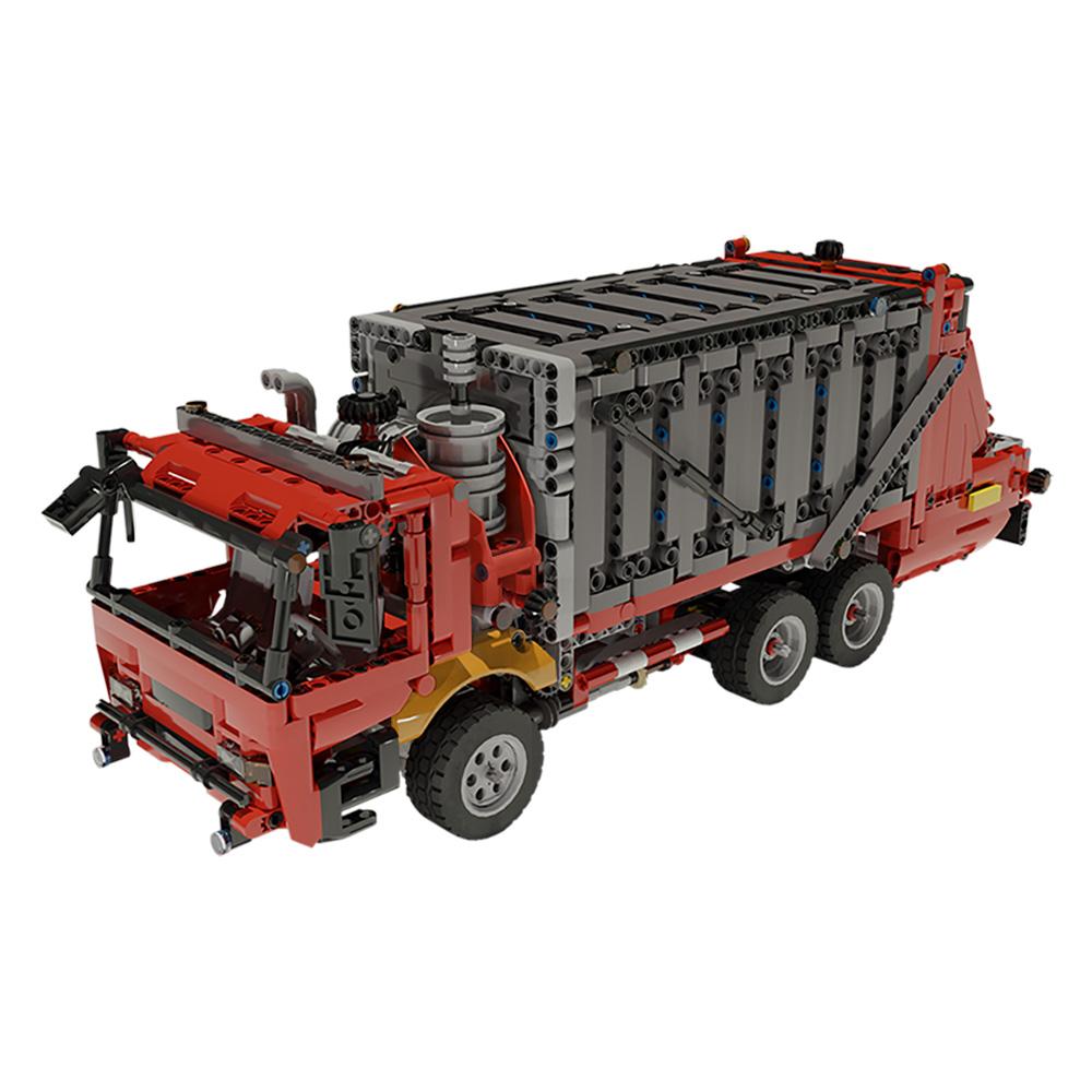 MOC-38031 42098 C model - Garbage Truck