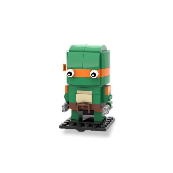MOC-18378 Brickheadz - Michelangelo