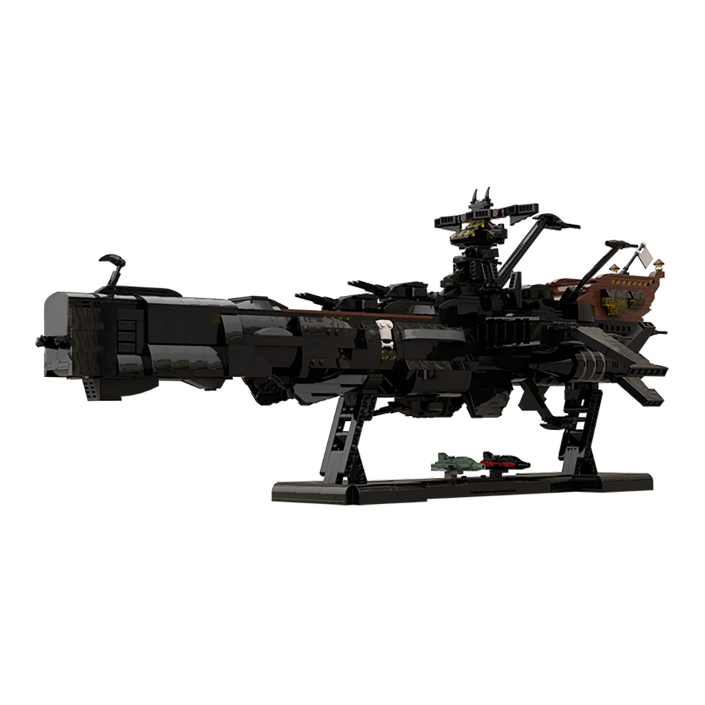 MOC-48193 Space Pirate Ship Arcadia - Captain Harlock (Albator)
