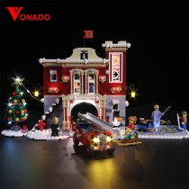 Winter Village Fire Station #10263