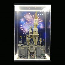 Acrylic Display box - Disney Castle #71040