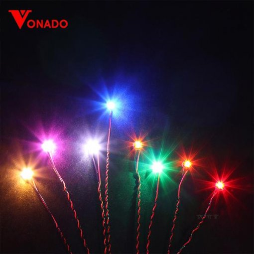 15cm Dot Lights Flashing (4 pack)