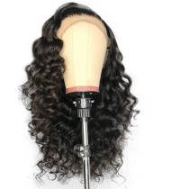 Lace Front Wig Loose Deep Wave for Women Pre Plucked with Baby Hair Human Hair Natural Color