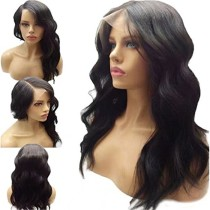 Deep Part Human Hair 13X6 Lace Front Wigs With Baby Hair Loose Wave For Black Woman