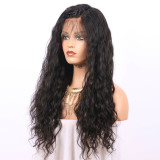 Natural Wave Lace Front Wig Natural Color Human Hair For Black Women With Baby Hair Glueless Brazilian