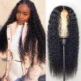 13x4 Lace Front Wig Curly Human Hair 150% density