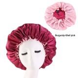 Pure Color Bonnet Double layer