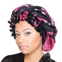 Bonnet for Black Women Sleep Cap Shower Cap  Double Layer