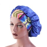 Flower Band Bonnet for Black Women