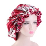 Bonnet for Black Women Sleep Cap Shower Cap  Double Layer