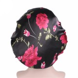 Flower Bonnet for Black Women Single layer
