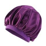 Pure Color Bonnet for Black Women Single Layer