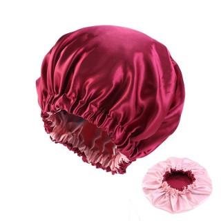 Pure Color Bonnet for Black Women Double Layer