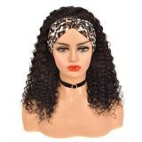 Headband Wig Human Hair Wig 150% Density Virgin Hair