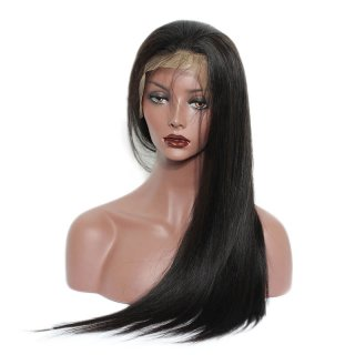 Straight Style Human Hair Wigs For Black Women Natural Color
