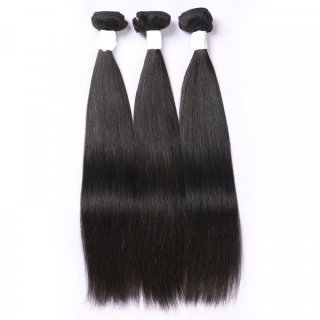 100% Virgin Human Hair Bunldes 3Pcs Deals Natural Color