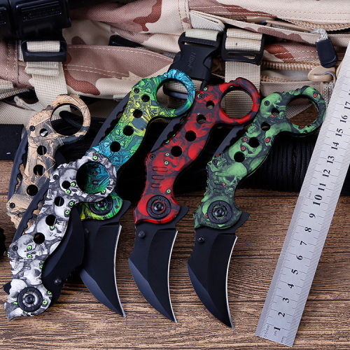 Multi Portable Pocket Self Defense Karambit knife