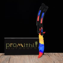 MARBLE FADE Butterfly Knife