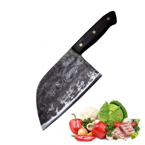 Promithi Forging handmade chef's knife, used to bone butcher's knife shredder, home cutting knife that cuts double-purpose fish vegetables ...