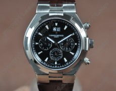ヴァシュロンコンスタンタンVacheron Constantin Overseas SS/LE Black Asian Automatic自動巻き