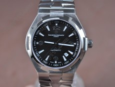 ヴァシュロンコンスタンタンVacheron Constantin Overseas SS Black (Upgraded) Swiss Eta 2824-2自動巻き