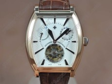 ヴァシュロンコンスタンタンVacheron Constantin Malte RG/LE White dial Asia Flying Tourbillon Handwindトゥールビヨン