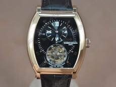 ヴァシュロン・コンスタンタンVacheron Constantin Malte Regulator Tourbillon RG/LE Blk Dial Flying Tourbillonトゥールビヨン