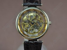 パテックフィリップPatek Philippe Genuine 18K Gold Plated Manual Handwind Movement手巻き