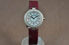 パテックフィリップPatek Philippe Ladies RG/LE/Diam White Swiss Quartzクオーツ
