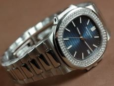 パテックフィリップPatek Philippe Nautilis Jumbo SS Burnt Blue/Sticks自動巻き