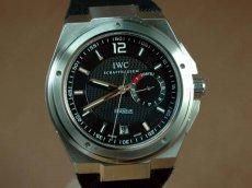 IWC Watches Ingenuier 7 Days SS/SS Black Asia 23J自動巻き
