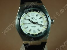 IWC Watches 2007 Ingenuier SS/NY White Asian 2824-2自動巻き