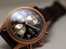 IWC St Exupery Chrono RG/LE Brown自動巻き