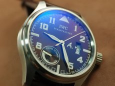 IWC St Exupery Power Reserve SS/LE Brown Asia Auto自動巻き