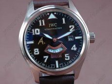 IWC St Exupery UTC RG/LE Brown Asia Auto 2 Time Zone自動卷き