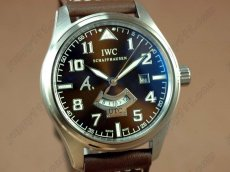 IWC St Exupery UTC SS/LE Brown Asia Auto自動卷き