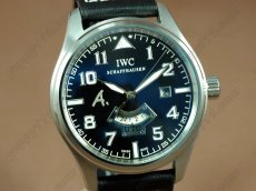 IWC Watches St Exupery UTC SS/LE Black Asia Auto 2 Time Zone自動巻き