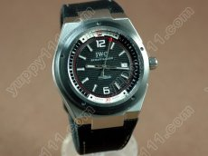 IWC Watches 2007 Ingenuier SS/NY Black Asian 2824-2自動巻き