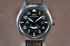 IWC St Exupery UTC SS/LE Brown Asia Auto 2 Time Zone自動巻き