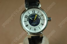 ルイヴィトンLouis Vuitton Tambour GMT SS/LE White 2836-2自動巻き