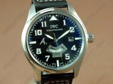 IWC Watches St Exupery UTC SS/LE Black Asia Auto自動巻き