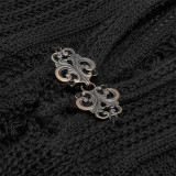 Gothic Woolen Cardigan