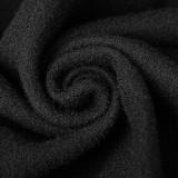 Uniform Retro Plate Woolen women's Jacket