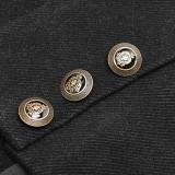 Punk Uniform Woolen women's Waistcoat