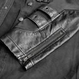 Punk lock decoration men's blouse