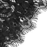 Gothic transparent lace women's long cloak