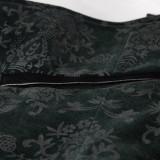 Gothic Printing Color Men's Vest Black/Red/Green